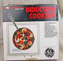 GE General Electric portable convection cook top Campers Apartments orig  box