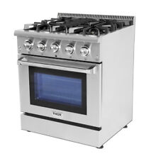 Thor 30 Gas Range Cooktop Oven HRG3080U Stainless Steel Sealed 4 Burner Upgrade