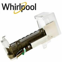 Ice Maker Assembly For Kenmore Whirlpool WPW10300022 ED5PVEXWS14 Refrigerator