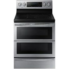 Samsung Stainless Steel 30  Electric Freestanding Range Convection NE59J7850WS