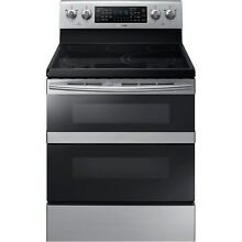 Samsung Stainless Steel 30  Electric Freestanding Range Convection NE59M6850SS