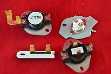 N197 3387134 3392519 Thermostat Package Kit for Whirlpool Kenmore Dryer New
