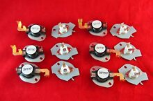 N197 Dryer Limit   Thermal Thermostat Kit for Whirlpool Kenmore New 6 Pack