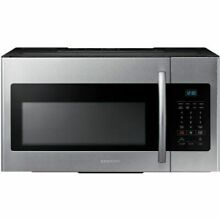 Samsung ME16H702SES 1 6CF Over the Range Microwave Stainless Steel 887276690162