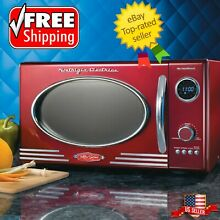 Nostalgia Electrics Retro Series Microwave Oven FREE SHIPPING BEST OFFER