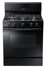 Samsung NX58F5500SB Freestanding Gas Range 5 8 CuFt Black New