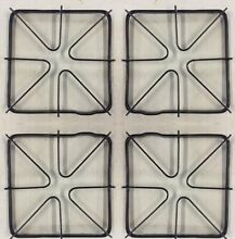 4 Pack of WB31K6   Burner Grate for General Electric Gas Range