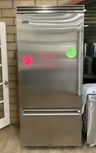 VCBB5363ELSS VIKING 5 SERIES 36 IN  COUNTER DEPTH BOTTOM FREEZER REFRIGERATOR