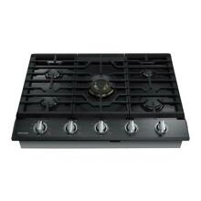 Samsung NA36N7755TG AA 36 inch Stainless Steel Gas Cooktop   Black