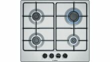 Bosch Gas Hob PGP6B5B80 Stainless Steel 60cm Serie 4