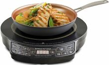 NUWAVE 30242 Lightweight Induction Cooktop With 9 in Fry Pan  10 8 A  1300 W
