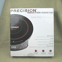 Precision Induction Cooktop Hearthware Live Well for Less Portable Stove 30121