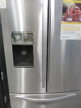 WHIRLPOOL 26 8 CU FT 3 DOOR FRENCH DOOR REFRIGERATOR stainless steel
