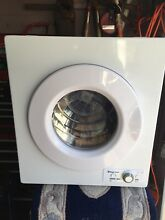 Magic Chef MCSDRY1S Dryer Magic Chef MCSTCW21W2 Washer USED