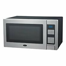 Oster OGZD1102 1000 Watts Digital Microwave Oven Full Stainless Front with 10