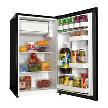 Haier 3 3 Cu Ft Single Door Compact Refrigerator HC33SW20RB  Black