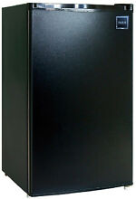 RCA 4 6 cu  ft  Mini Fridge in Black