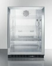 Summit Commercial Built in Under Counter Beverage Fridge with SS interior