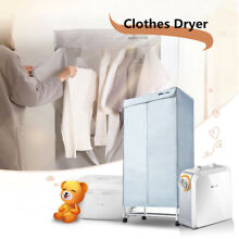 Home Electric Air Clothes Dryer Portable Heater Wardrobe Machine Drying Rack