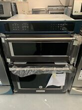 30  Kitchenaid Electric Convection Wall Oven With Built In Microwave Koce500ebs