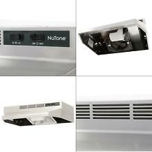 RL6200 Series 24 in  Ductless Under Cabinet Range Hood with Light in Stainl