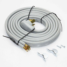 RC3 50 10 Range Stove Oven Power Cord   3 Wire   10 Feet Long   50 Amp 220 Volt
