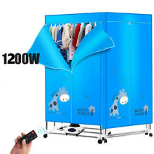 220V NEW Portable Home Energy saving Rotary Control Electric Air Clothes Dryer