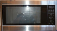 Sharp ZR651ZS 2 2 Cu  Ft  Microwave Oven  Stainless Steel