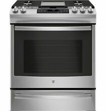 GE Appliances JGS760SELSS 30  Slide In Convection Gas Range   Stainless Steel 42
