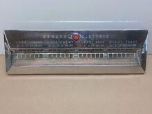 Vintage Retro General Electric GE Cooktop Control Panel 1950s 1960s