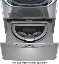 LG Electronics WD100CV 27 in  1 0 cu  ft  SideKick Pedestal Washer with