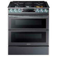 Samsung NX58K9850SG Slide In Double Oven Electric Range