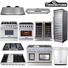 Thor kitchen Cooking Gas Range Stoves  Dishwasher  Range Hood  Wine Cooler
