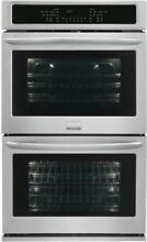 Frigidaire FGET2765PF 27 Inch Double Electric Wall Oven   Stainless Steel