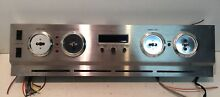 Jenn Air WW27210P Stainless Steel Wall Oven Control Panel Complete No Knobs