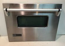 Jenn Air WW27210P Stainless Steel Wall Double Oven Replacement LOWER Door Handle