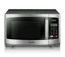 Stainless Steel Countertop Microwave Oven 900 Watt Kitchen Digital 0 9 Cu  Ft