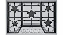 Thermador 30  Stainless Steel Gas Cooktop   SGS305TS