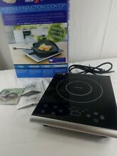 Fagor 1800W Portable Induction Cooktop Sleek Black Model 670041470 R39