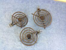Whirlpool Electric Cooktop Burner Elements  Lot of 3