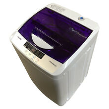 Panda PAN56MGP3 Compact Portable Washing Machine 1 6cu ft 11lbs Capacity  Purple