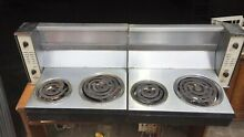 Vintage Retro 1950 s Futuristic Frigidaire Fold Down Wall Electric Stove Top