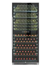 Vinotemp 300 Bottle Dual Zone Wine Cooler refrigerator VT 300 SS 2Z right Hinge