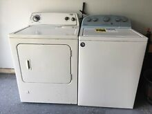 Moving sale  Whirpool washer dryer set sale   White