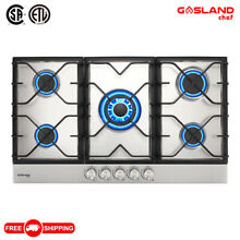 Gasland chef GH90SF 36  Built in Gas Stove Top  Stainless Steel LPG NG