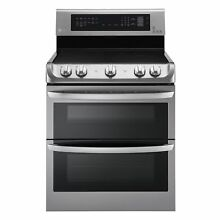 LG LDE4415ST Electric Double Oven Range 7 3 cu  ft   Stainless Steel