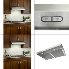 Glacier Deluxe 42 in  Convertible Under Cabinet Range Hood with Light in St