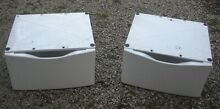 WASHER AND DRYER MATCHING LG PEDESTALS STANDS