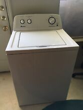 Amana 3 5 Cu  Ft  Top Load Washer   White