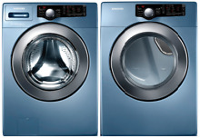 Samsung Front Load Washer Gas Dryer appliance washer and dryer